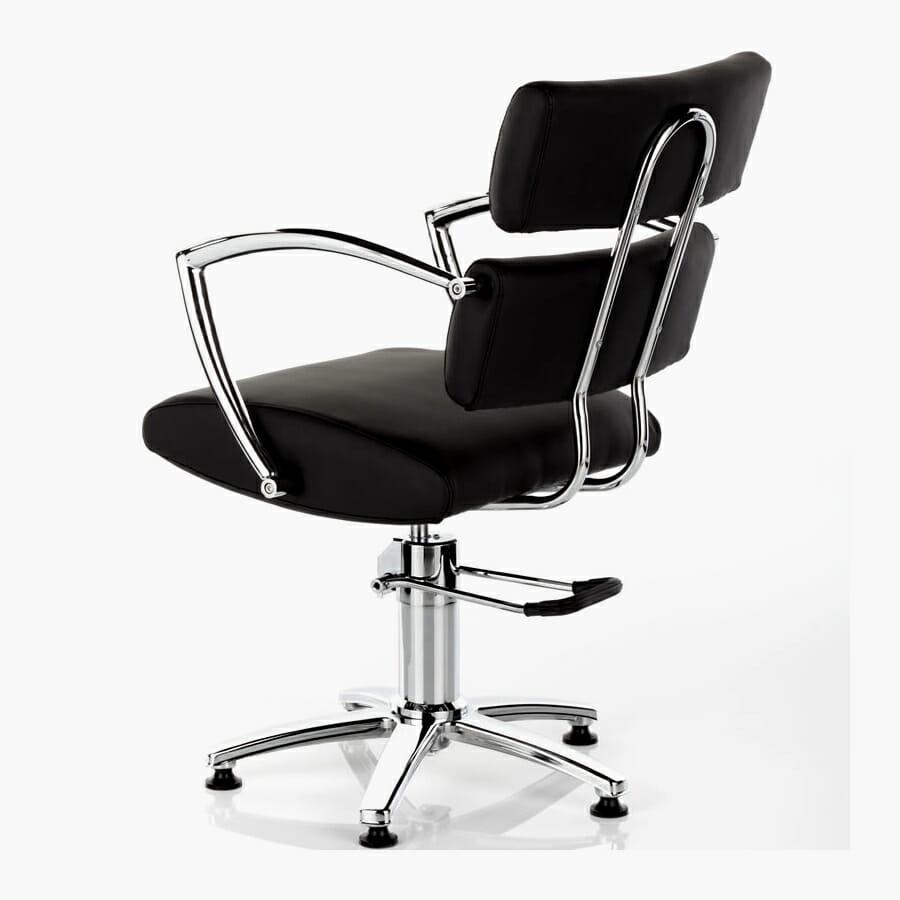 Antigua Hydraulic Styling Chair In Black Direct Salon