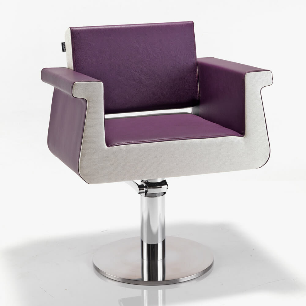 Rem peru hydraulic styling chair direct salon furniture for Salon furniture