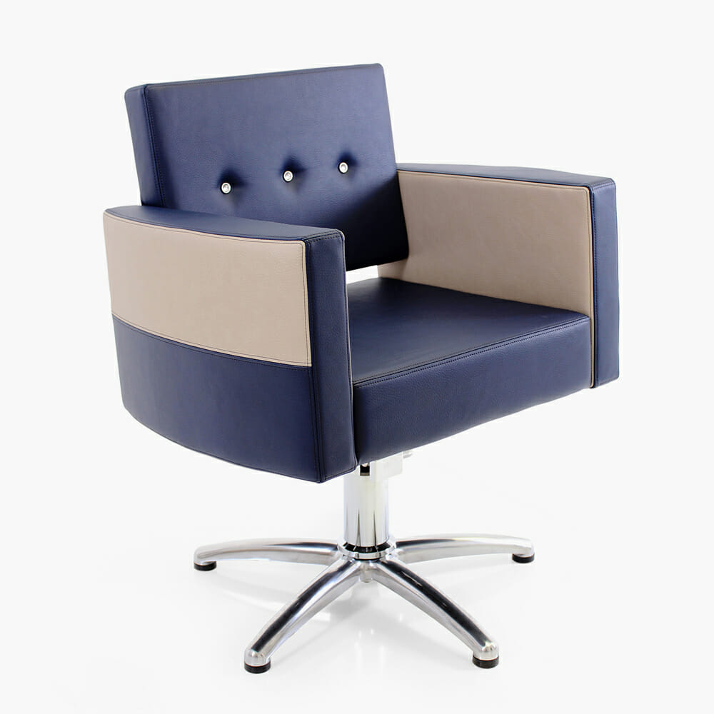 Rem royal hydraulic styling chair direct salon furniture for Salon couch