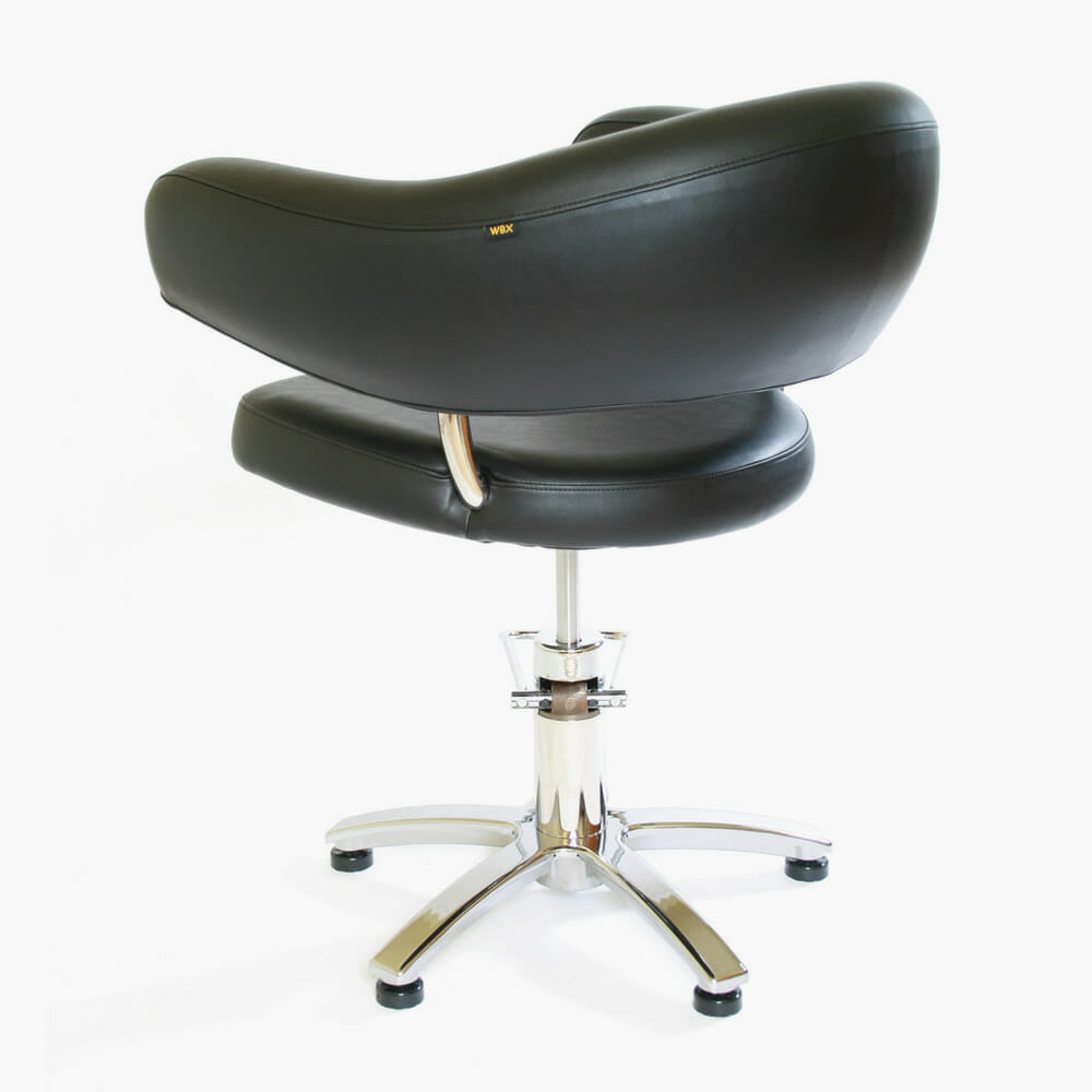Wbx eclipse hydraulic styling chair direct salon furniture for Salon furniture