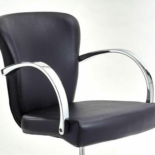 WBX Grande Chrome Hydraulic Styling Chair