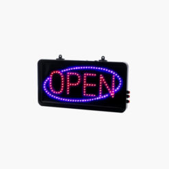 Static LED Open Sign Small