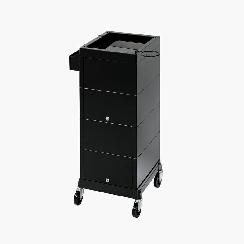 Discrete locking trolley direct salon furniture for Salon trolley