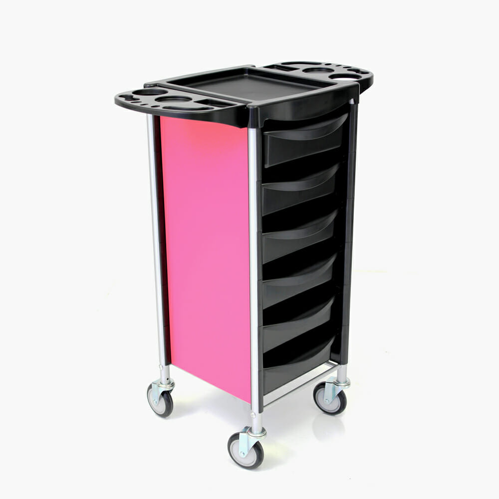 Rem apollo lux salon trolley direct salon furniture for Salon trolley