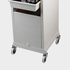 discrete locking trolley