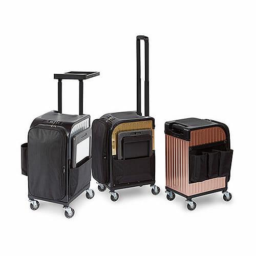 sibel rollercoaster mobile stool & case