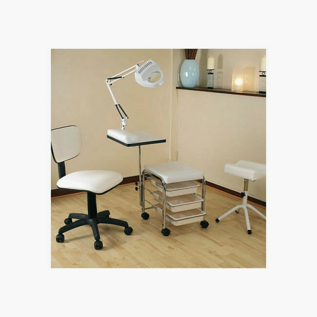 Skinmate mobile nail kit b direct salon furniture for Mobile beauty therapist table