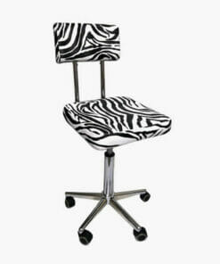 Crewe Orlando Zebra Therapist Stool