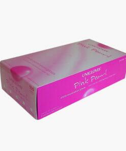 unigloves pink nitrile gloves