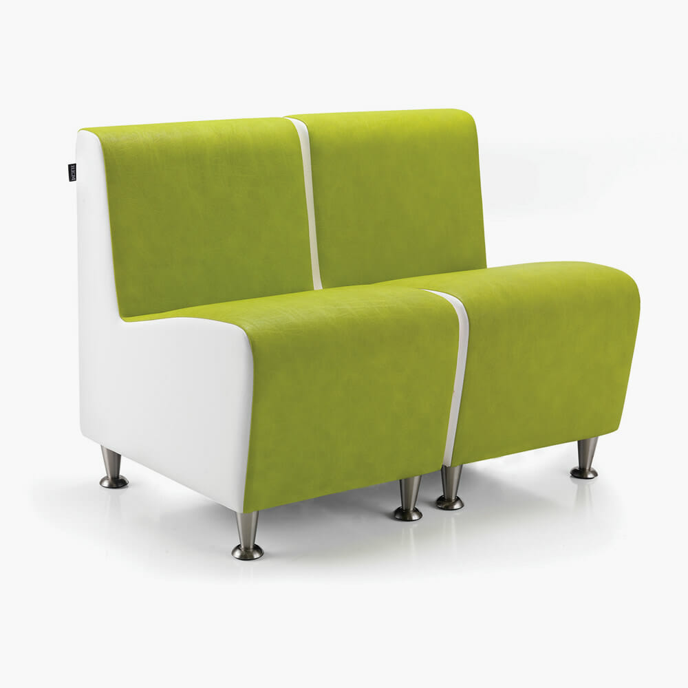 Rem elegance waiting seat direct salon furniture for Beautician furniture