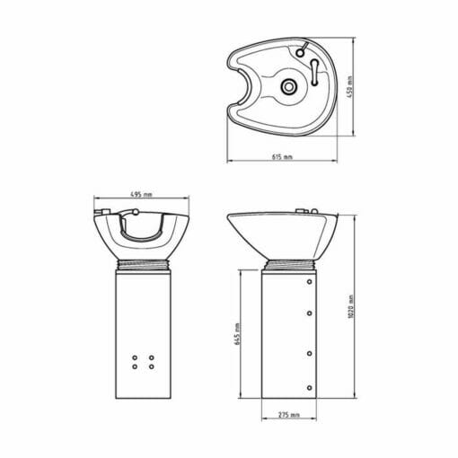 WBX 2000 Stand Alone Backwash Basin