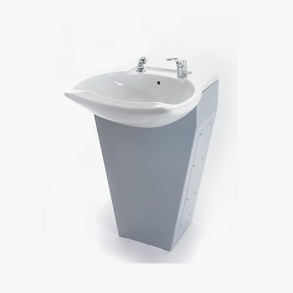 WBX Lavaggio Front Wash Basin - Direct Salon Furniture