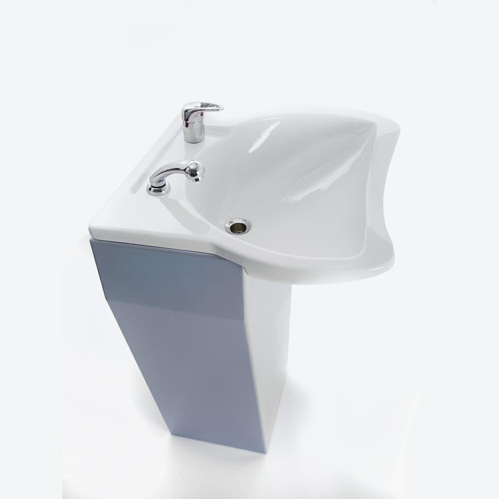Wbx lavaggio front wash basin direct salon furniture for Salon basins for sale